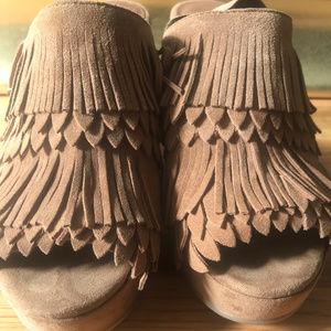 Lucky Brand Shoes - Lucky Brand Jeena Wedge Moccosins